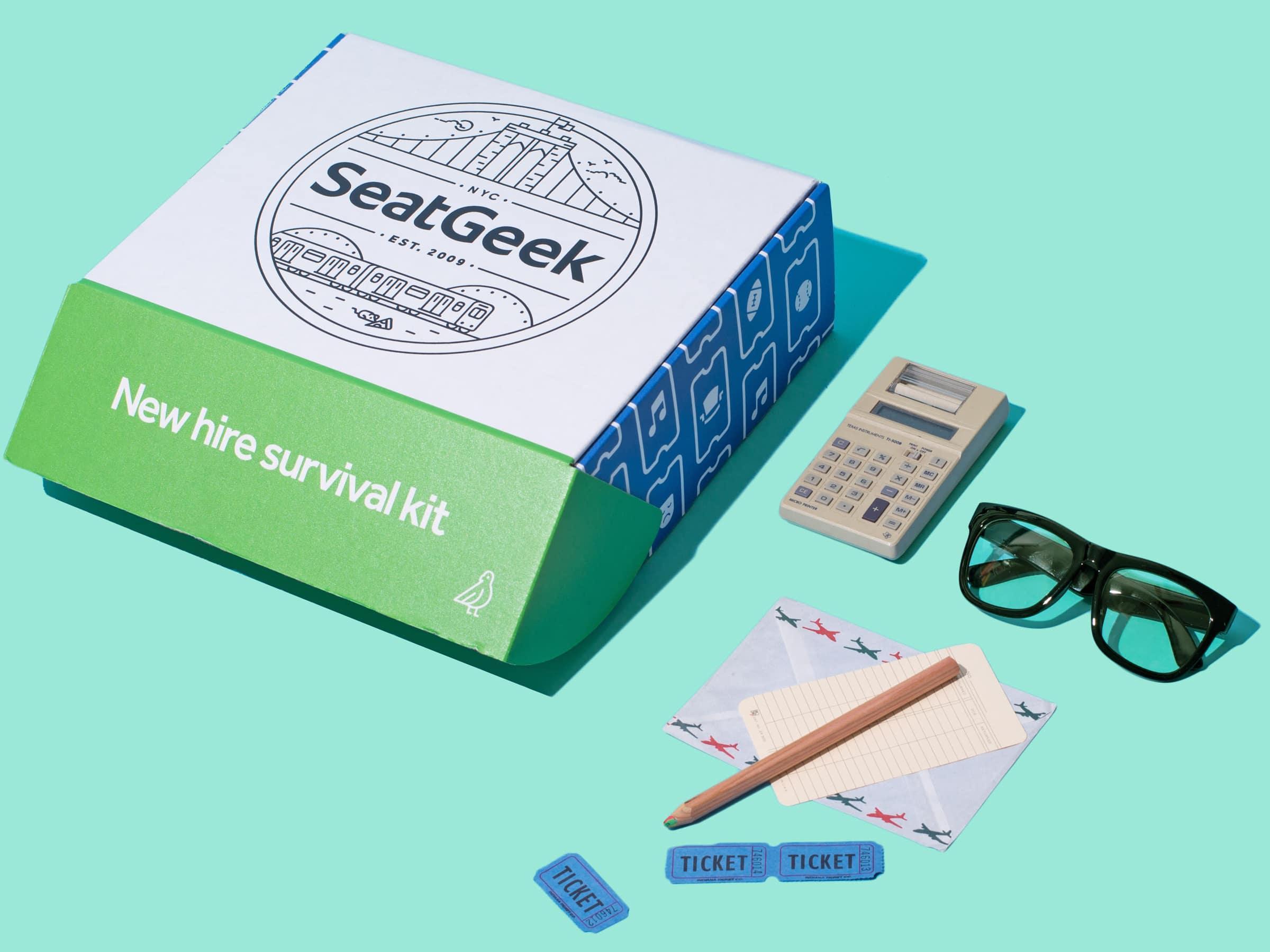 Seatgeek Employee Welcome Kits