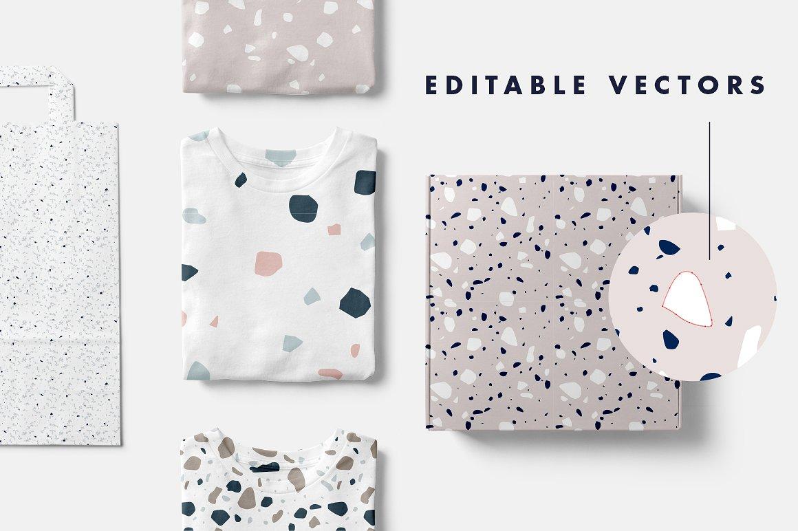Editable vectors