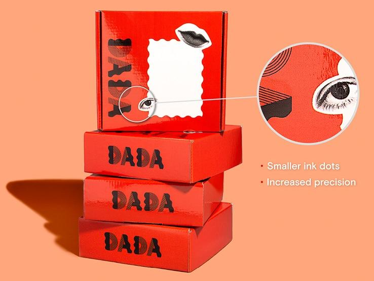 HDPrint Gloss mailer box