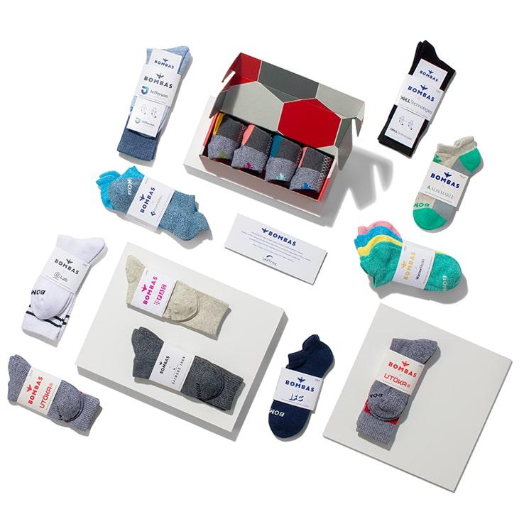 Bombas Socks mailer box