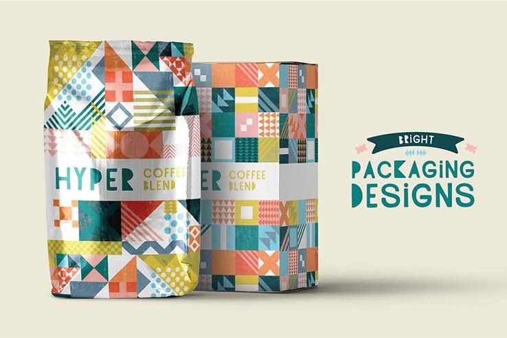 Patterns for custom packaging design
