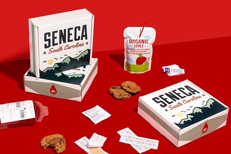 Custom gift box by Seneca